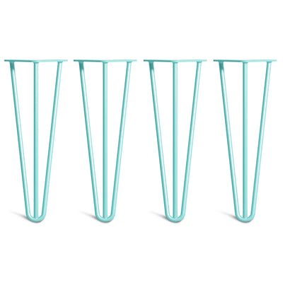 Duck Egg Blue Hairpin Legs