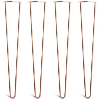 Copper Hairpin Legs