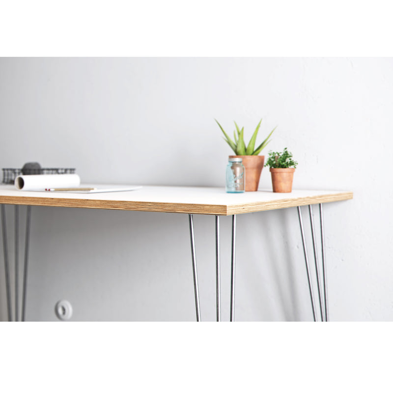 Hairpin Table (White)