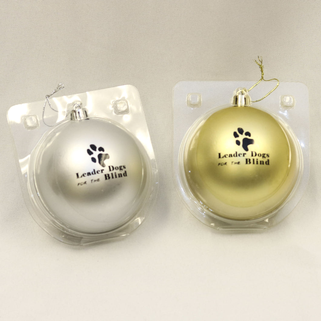 Holiday ornament ball