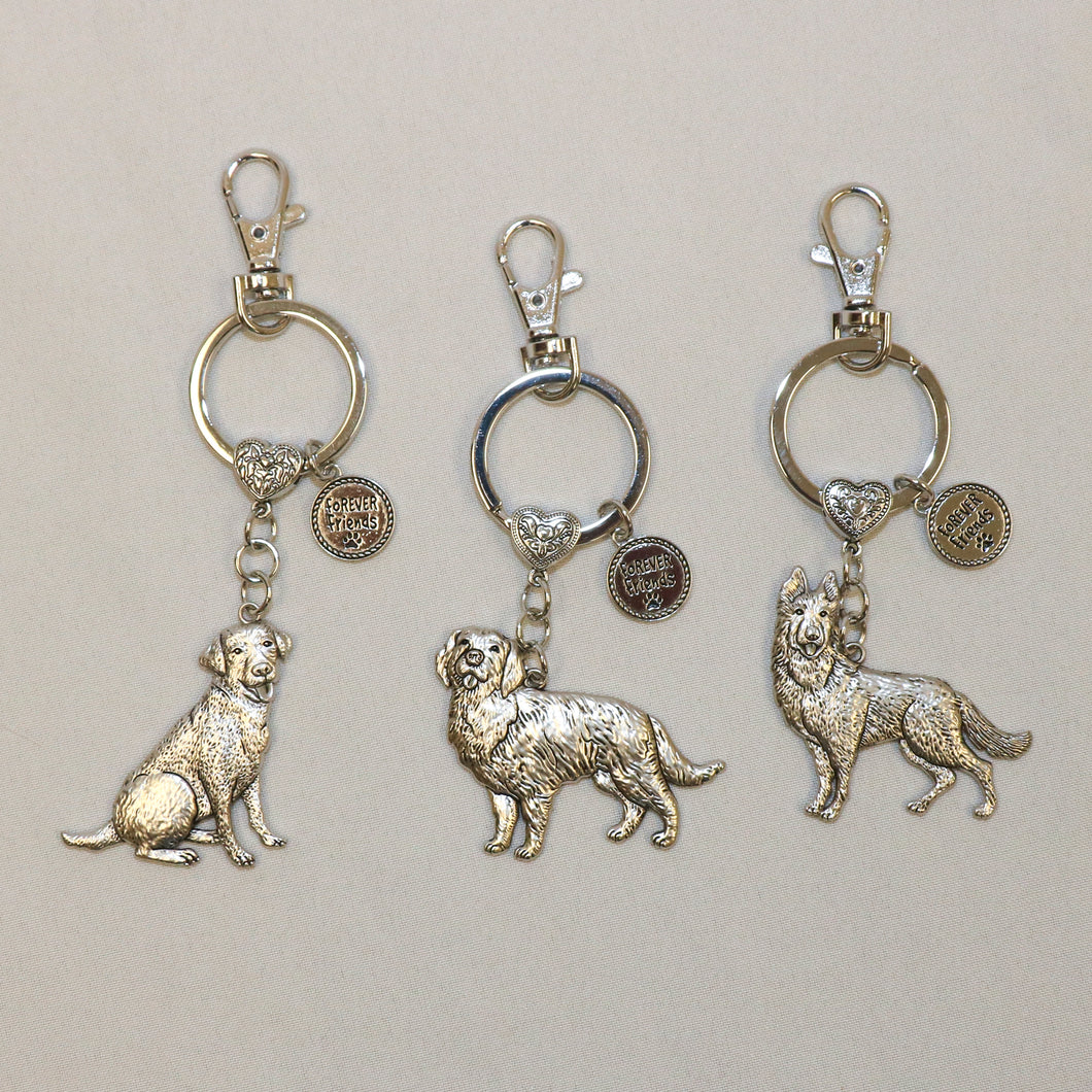 Dog Breed Key Ring