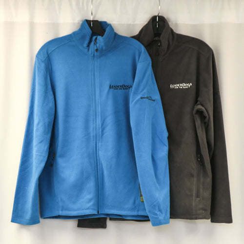 Eddie Bauer zip fleece