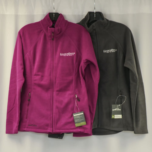 Eddie Bauer ladies zip fleece