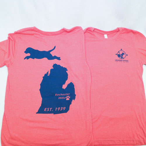 T-shirt Michigan Dog