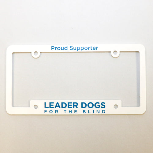 License Plate Frame - Proud Supporter