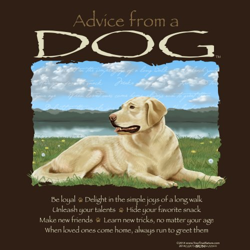 Advice from a dog t-shirt and sweatshirt