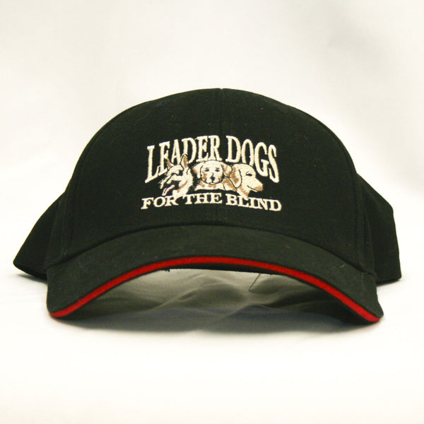 Baseball Hat with Three-Dog Logo