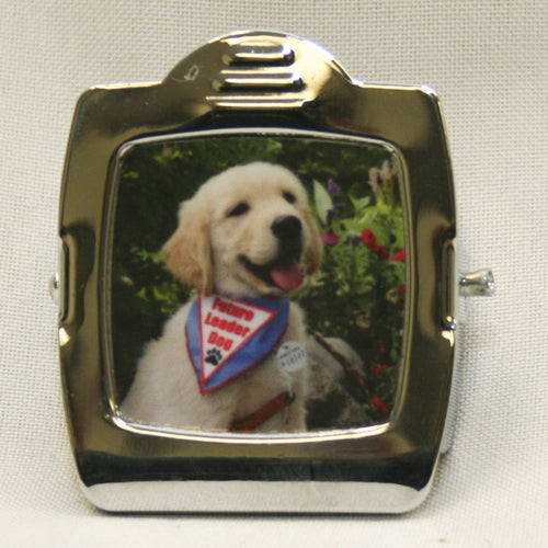 Magnet clip style with puppy photo