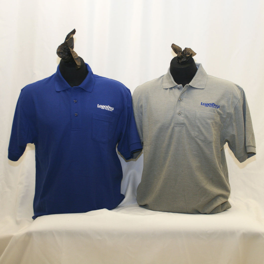 Men's Polo with pocket