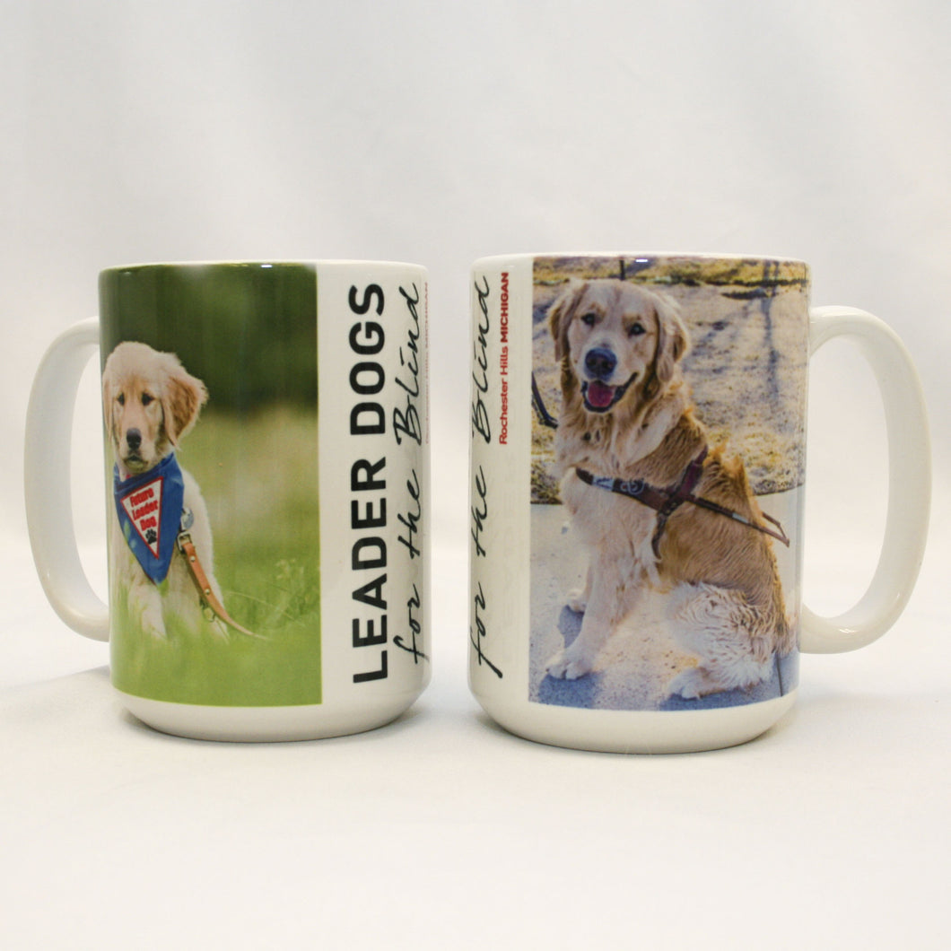 Ceramic Photo Mug - Golden Retriever