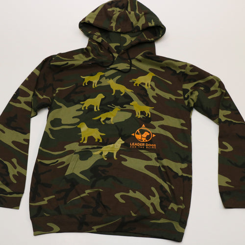 Sweatshirt Hooded Camo