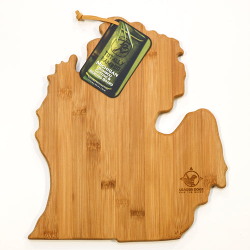 Cutting Board - Michigan shaped bamboo
