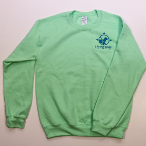 Sweatshirt Crew Neck Mint Green