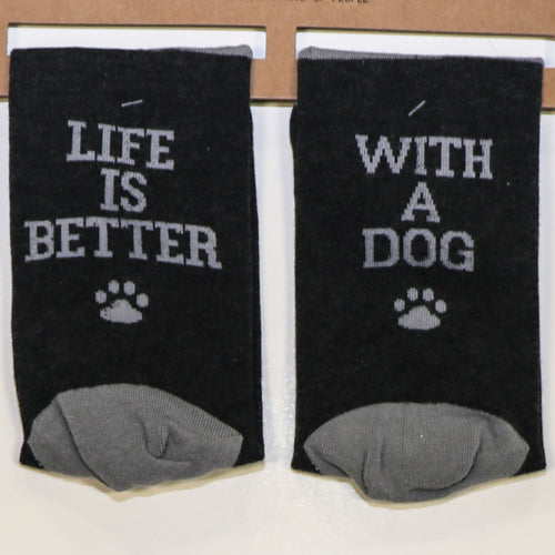 Ladies Socks - Dog