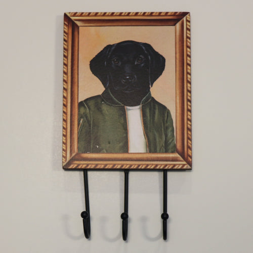 Wall Hook Black Lab
