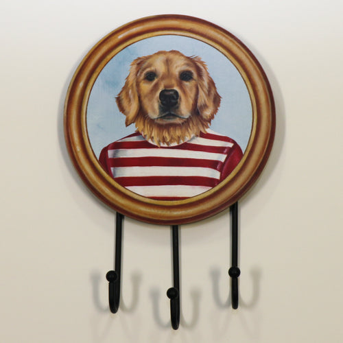 Wall Hook Golden Retriever