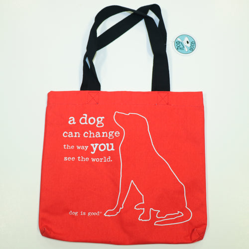 Tote Bag - Dog Change World