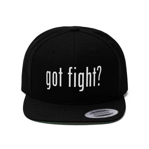 Got Fight? Original Snapback Cap