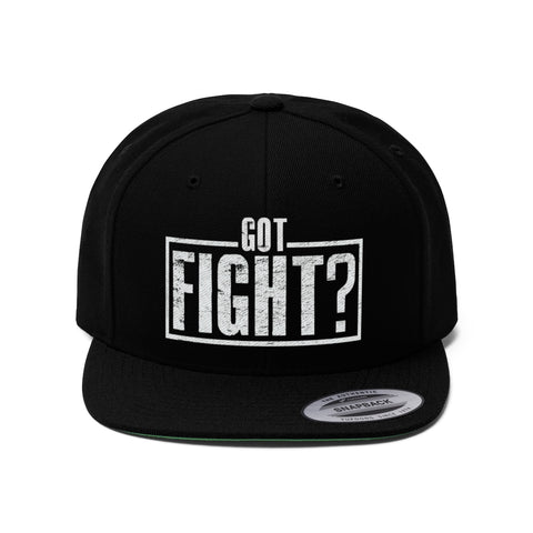 Got Fight? Elite Snapback Cap