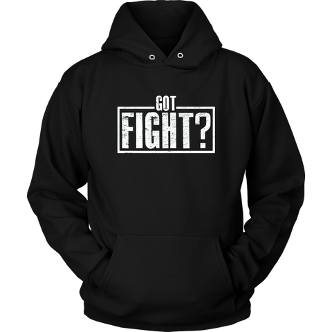 Got Fight? Stamp Hoodie
