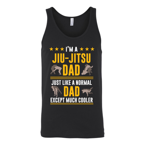 Jiu-Jitsu Dad Unisex Tank Top