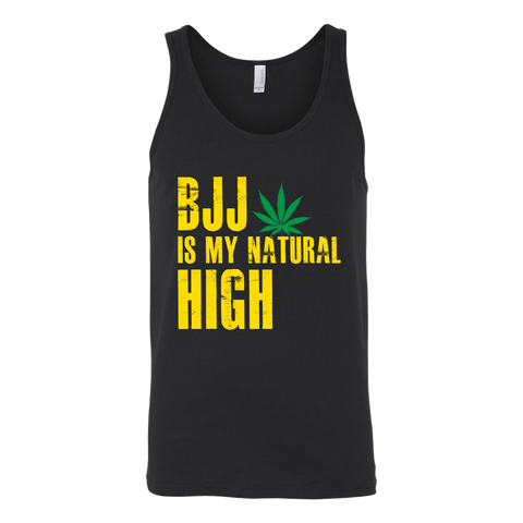 BJJ Is My Natural High Unisex Tank Top