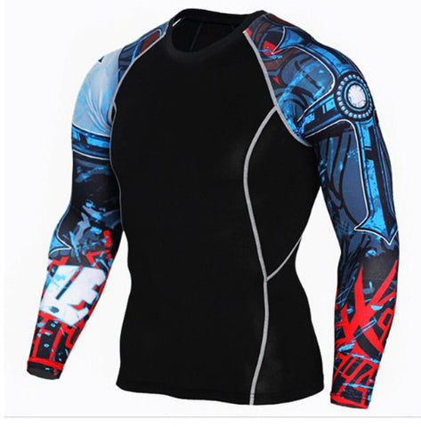 Amex Compression Top (Long Sleeves)