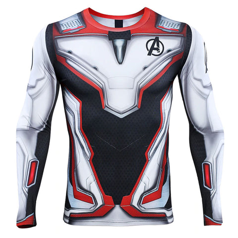Avengers Endgame Quantum Compression Top (Long Sleeves)