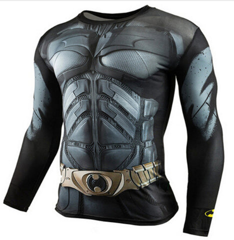 Batman Compression Top (Long Sleeves)