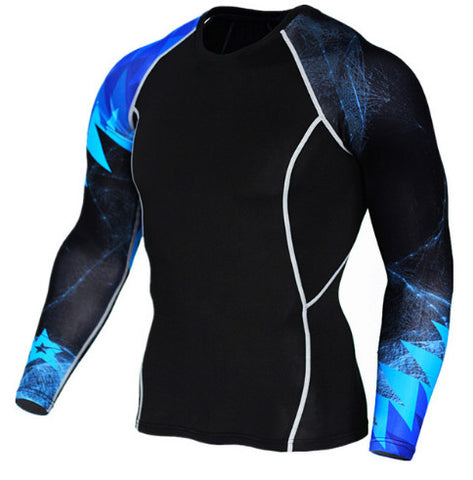 Blue Light Compression Top (Long Sleeves)