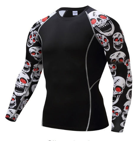 Brain Skull Compression Top (Long Sleeves)