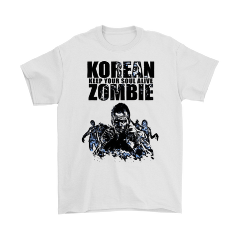 Korean Zombie Keep Your Soul Alive Tee
