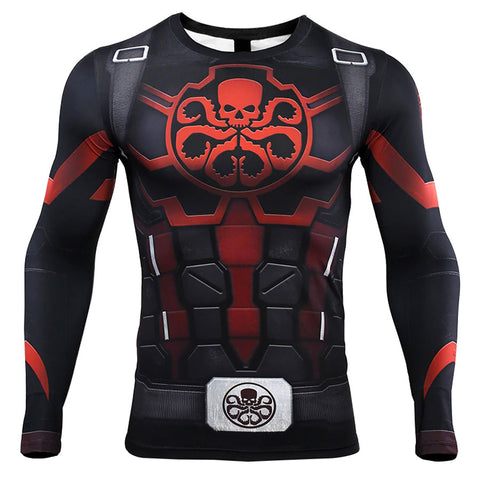 Captain Hydra Compression Top (Long Sleeves)