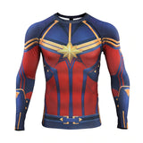 Captain Marvel Endgame Compression Top (Long Sleeves)