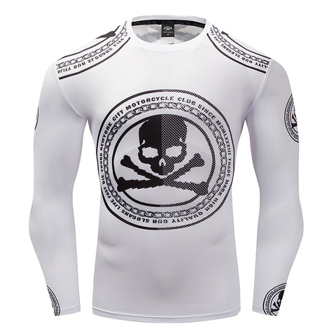 Cross Skull Compression Top (Long Sleeves)