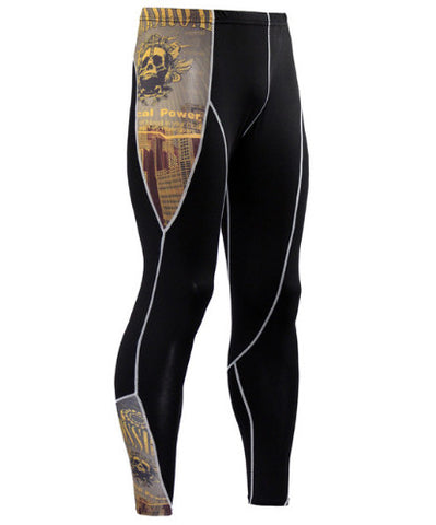 Crossroad Skulls Compression Pants