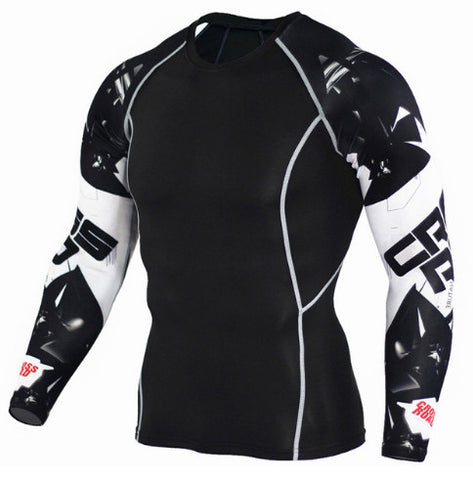 Crossroads Compression Top (Long Sleeves)