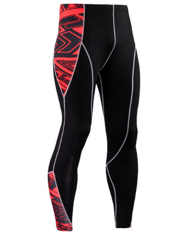 Cubix Red Compression Pants