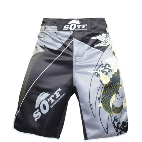 Dragon Koi Fight Shorts