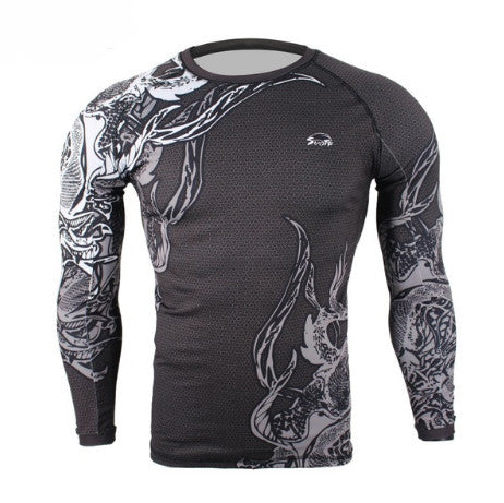 Fight Fig Rashguard