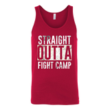Straight Outta Fight Camp Unisex Tank Top