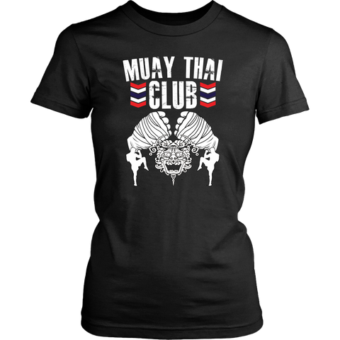 Muay Thai Club Ladies Tee