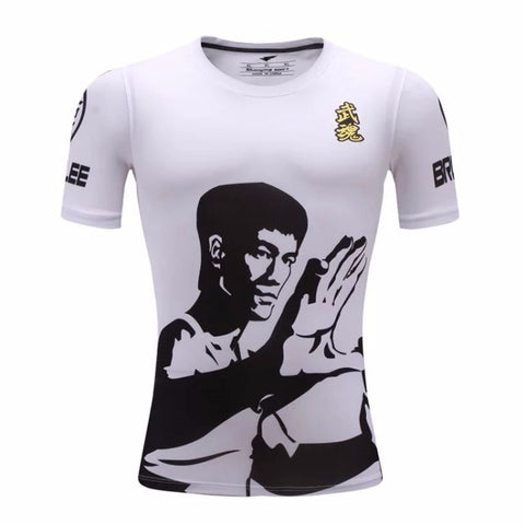 Bruce Lee Spirit Compression Top (Shorts Sleeves)