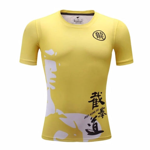 Bruce Lee JKD Compression Top (Shorts Sleeves)
