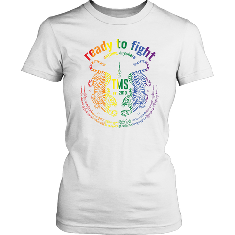 RTF Pride Tiger Yant Ladies Tee