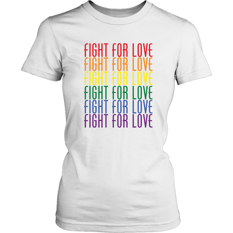 Fight For Love Ladies Tee