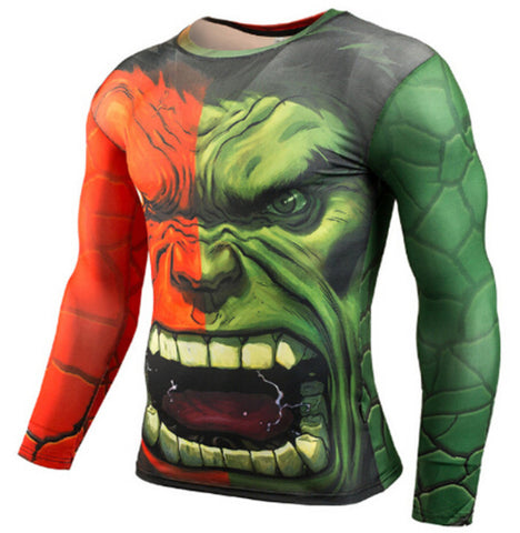 Hulk Compression Top (Long Sleeves)