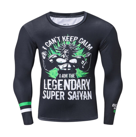 I Can't Keep Calm Compression Top (Long Sleeves)