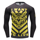 IWTL Tiger Compression Top (Long Sleeves)