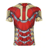 Iron Man MK 42 Compression Top (Short Sleeves)
